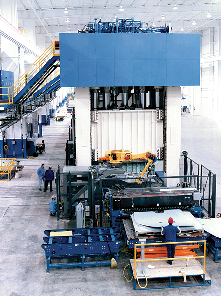 Hydraulic Presses with Bed Sizes